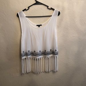 Timing Fringe Tank Size M